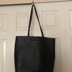 Black Kate Spade bag. Used  wear on should strap